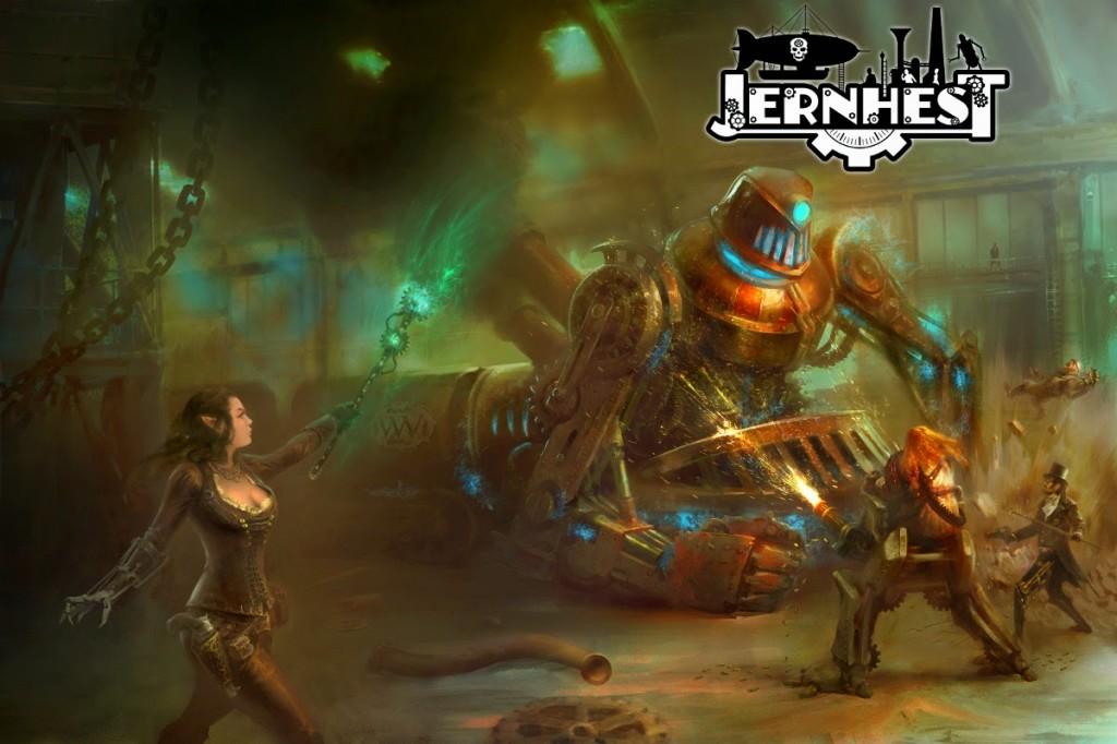 Jernhest, ambientación steampunk para Aventuras en la Marca del Este, calienta motores