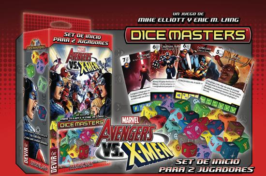 Imagen del juego Marvel Dice Master