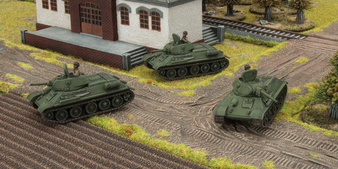 Battlefront presenta el set T-34 obr 1940 para Flames of War