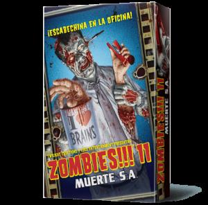 Zombies!!! 11 Muerte S.A. caja