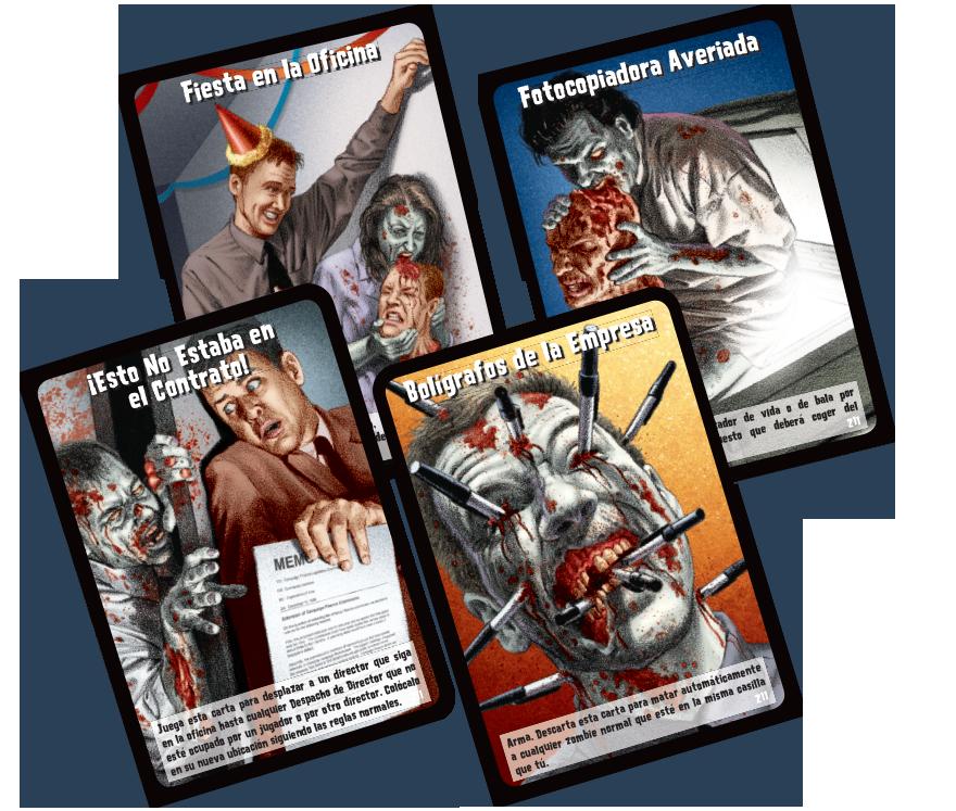 Zombies!!! 11 Muerte S.A. cartas