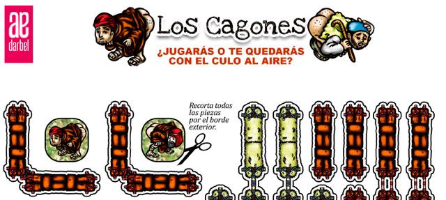Fichas del juego Los Cagones de Darbel