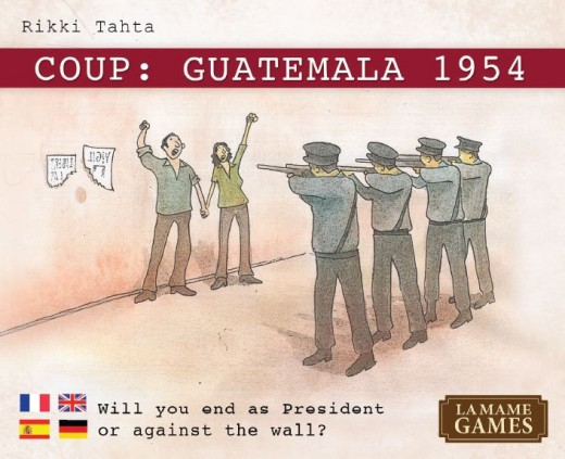Portada de Coup Guatemala 1954