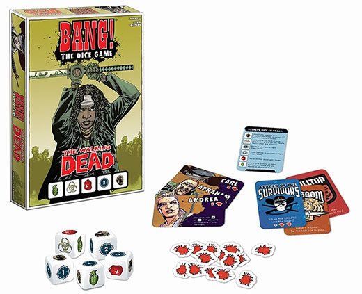 Bang the walking dead dice game