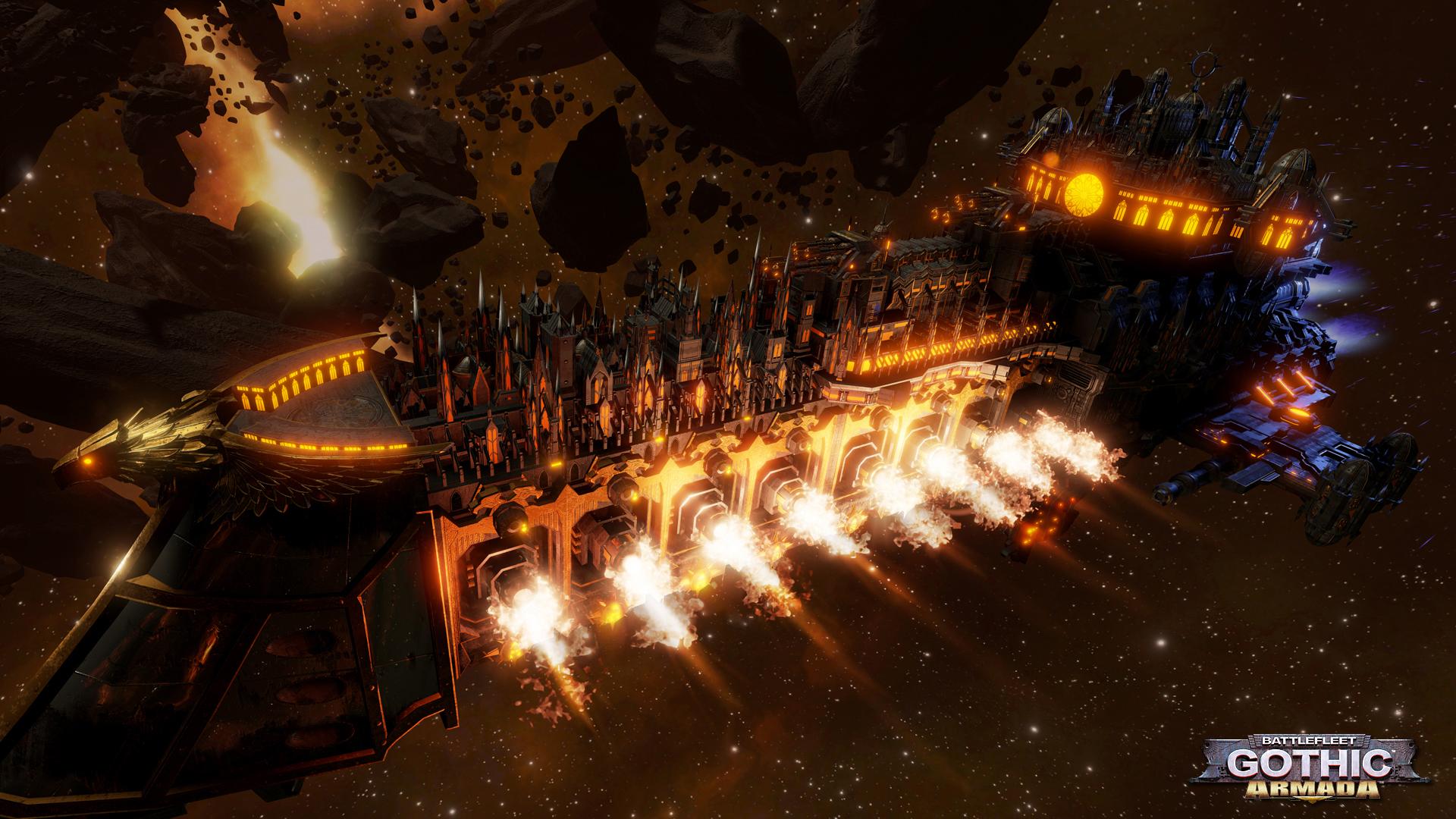 Battlefleet Gothic, Armada, promo1