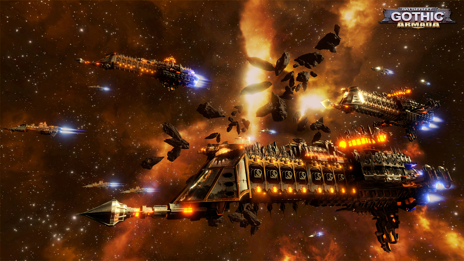 Battlefleet Gothic, Armada, promo3