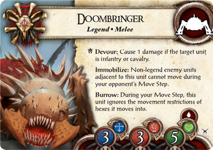 Battlelore, carta Doombringer