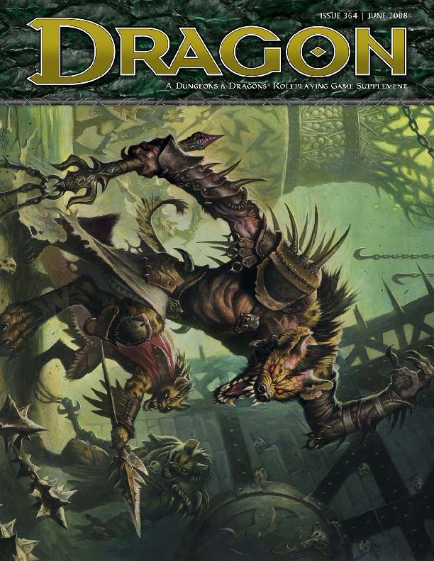Dragon, portada revista2