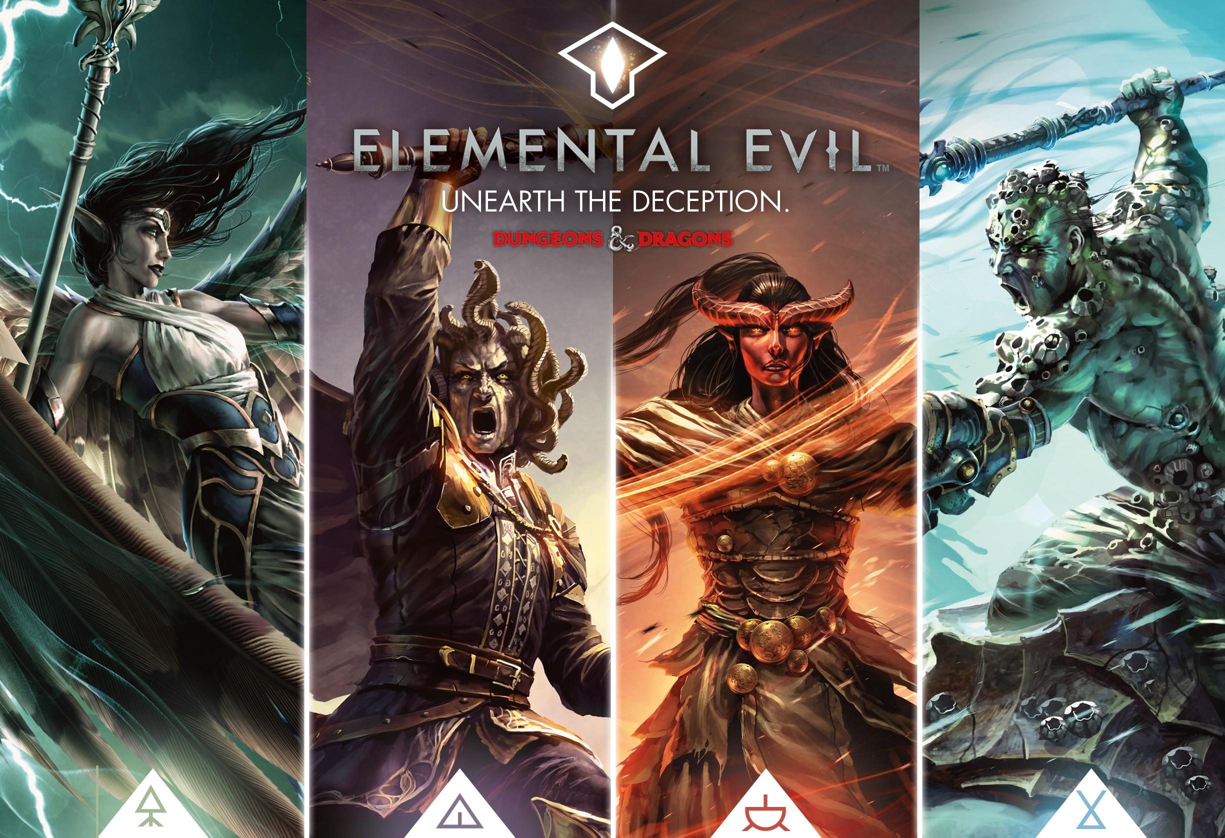 Dungeons&Dragons, Elemental Evil