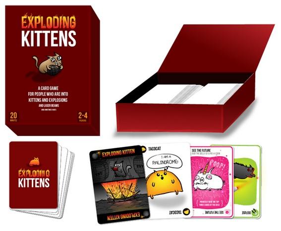 Exploding Kittens Caja