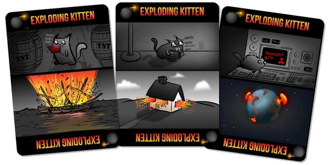 Explosiones y gatos, juntos por fin en Exploding Kittens
