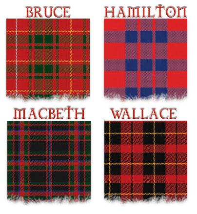 King's Kilt clanes