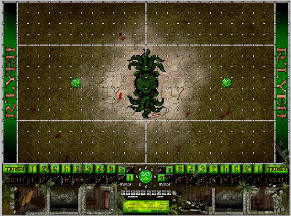 Necronomicon II, campo de juego