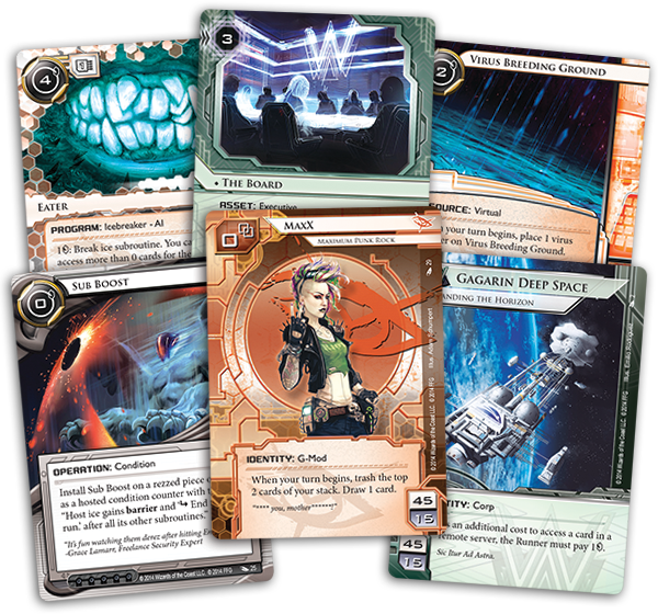 Netrunner - Order and Chaos Cartas