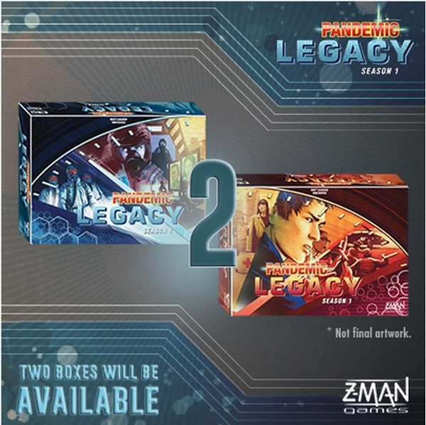 Primeros datos de Pandemic Legacy Season 1