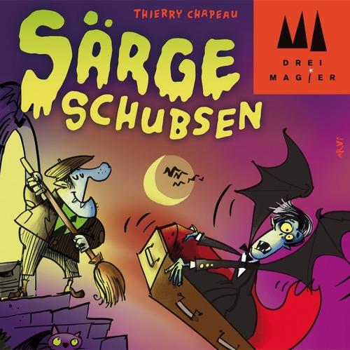 Särge Schubsen, el nuevo juego de Thierry Chapeau, a la venta en marzo
