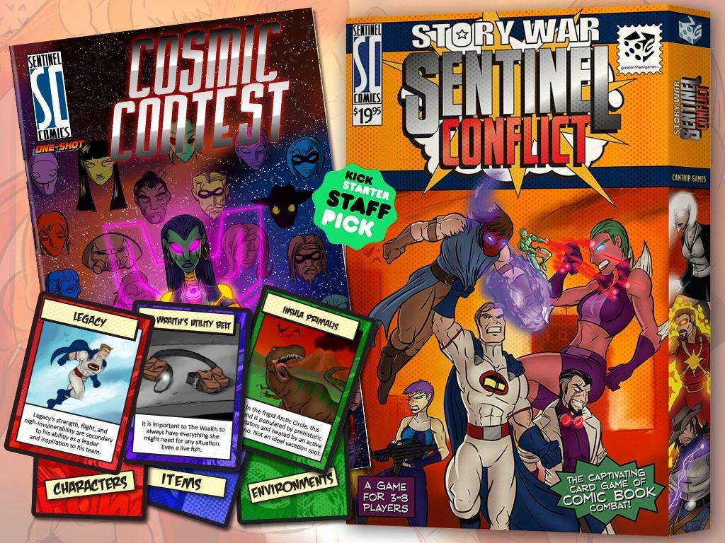 Cancelado el crowdfunding de Story War: Sentinel Conflict