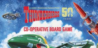 Portada del juego de mesa thunderbirds