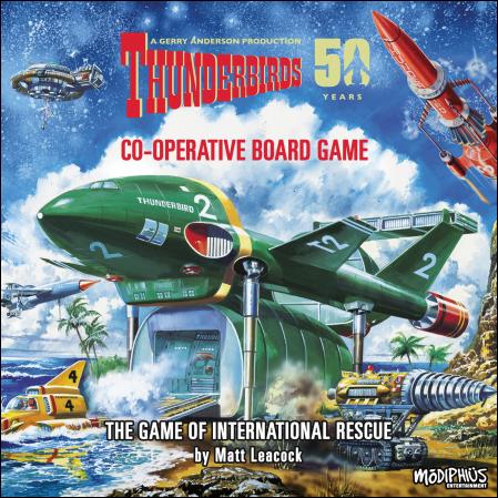 Thunderbirds, caja