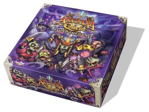 Caja de Arcadia quest beyond the grave
