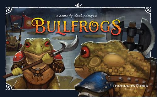 Portada de Bullfrogs