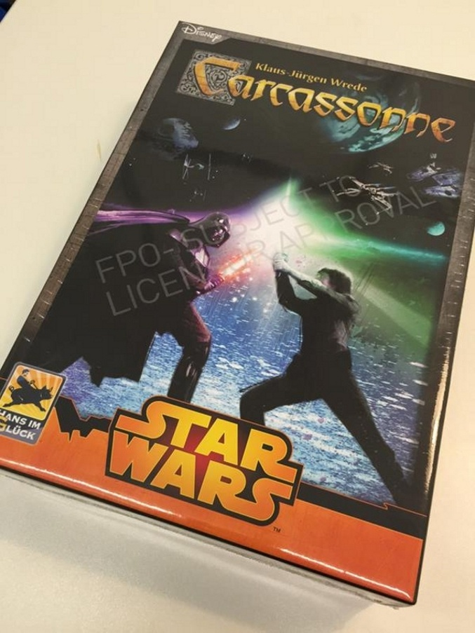 Carcassonne Star Wars Caja