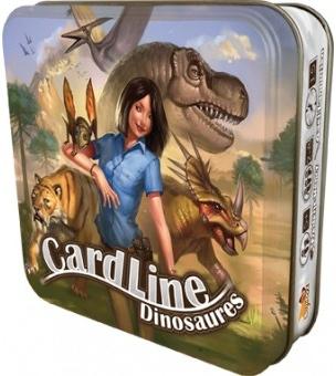 Portada de Cardline dinosaurios