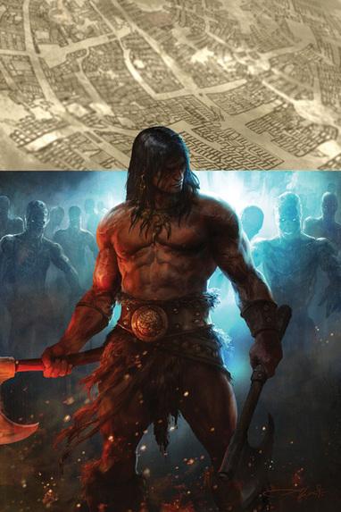 Conan 2D20 ilustración