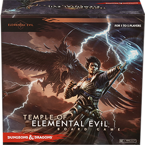 Dungeons&Dragons, Temple of Elemental Evil, caja