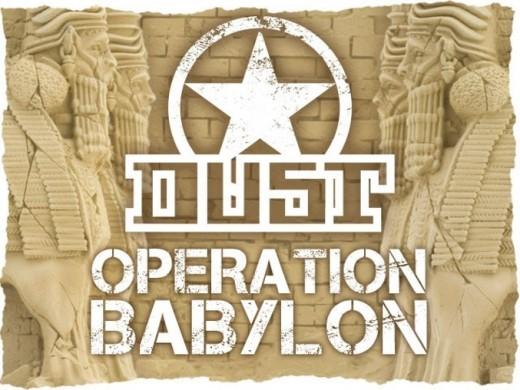 Logotipo de Dust operación babylon
