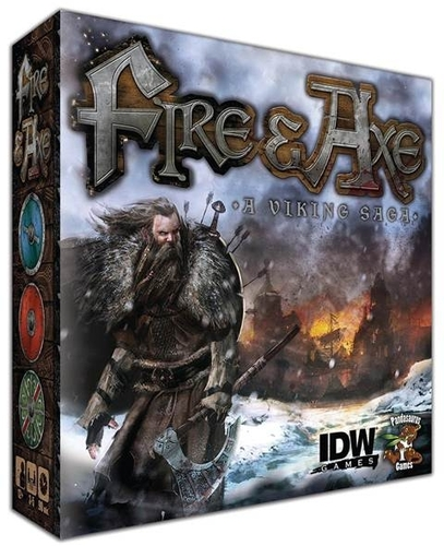 Portada de Fire and axe