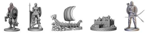 Nuevas miniaturas de Fire and axe