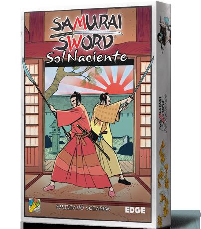 Samurai Sword Sol Naciente caja