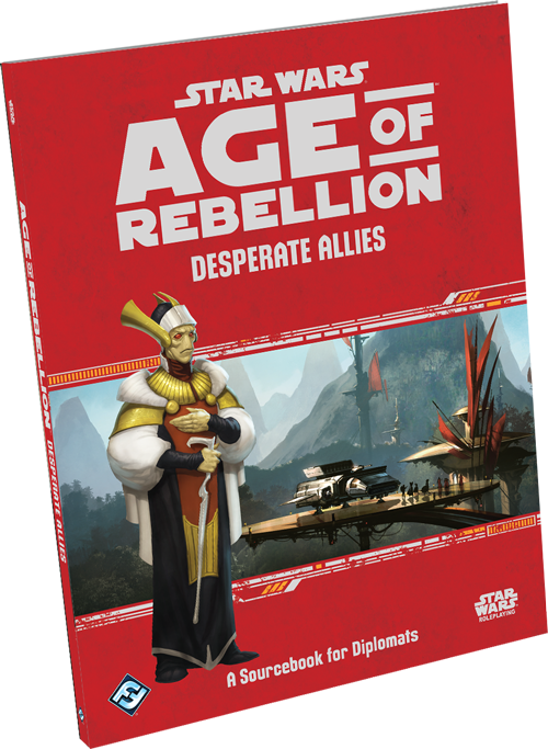 Star Wars Age of Rebellion - Desperate Allies portada