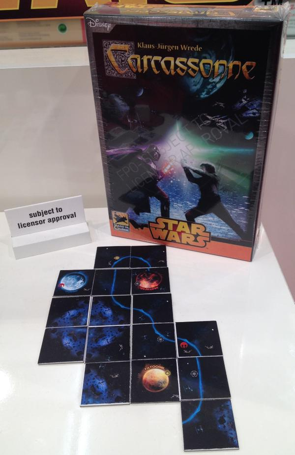 Star Wars, Carcassonne caja