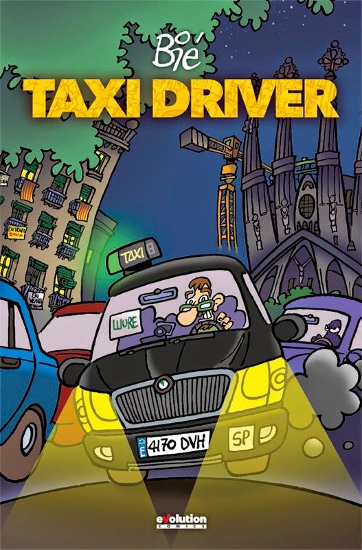 Taxi Driver, portada