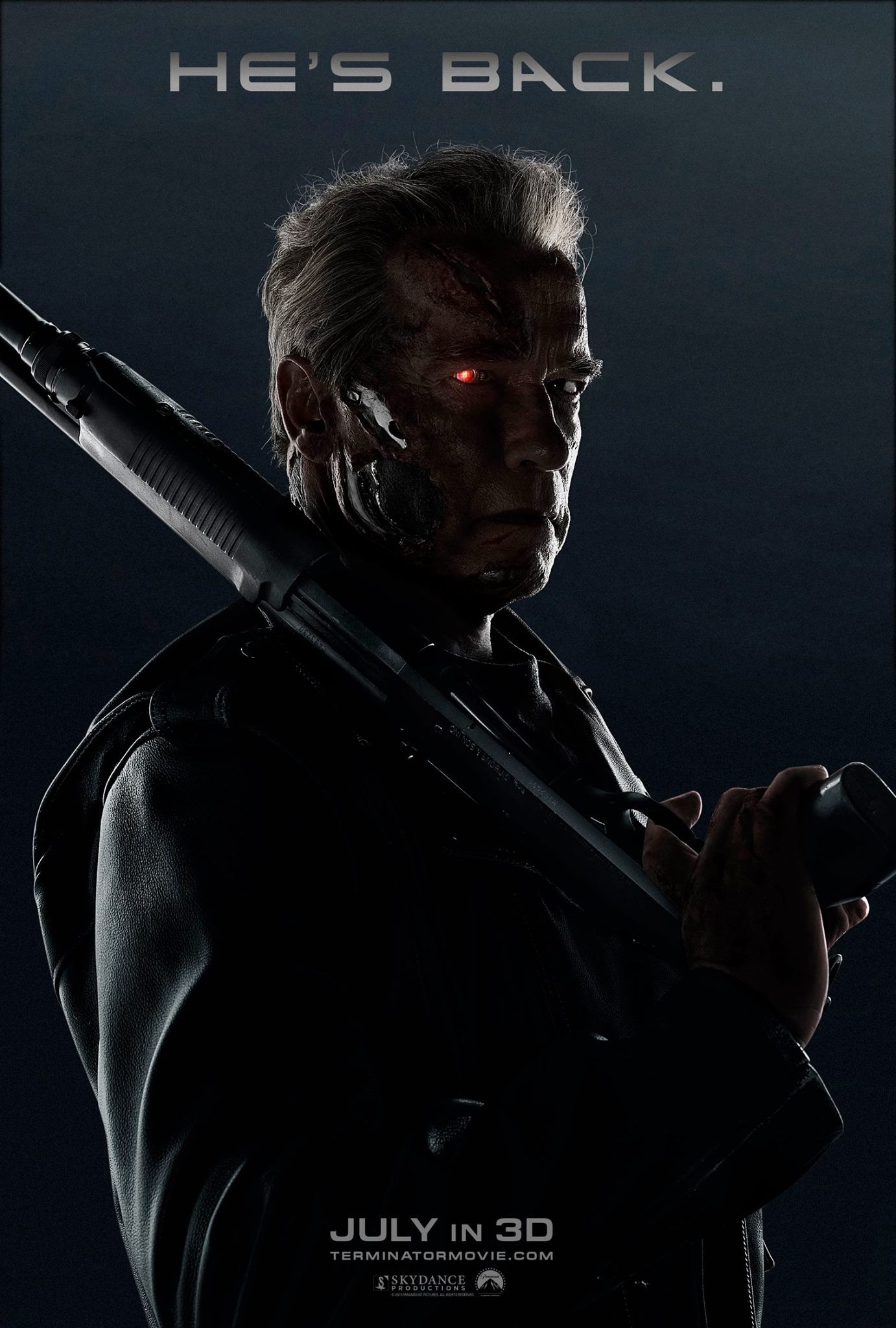 Terminator Genisys, Arnold poster