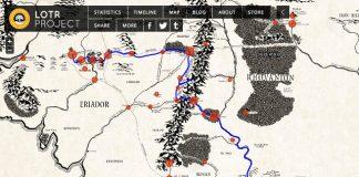 Mapa interactivo de la Tierra Media