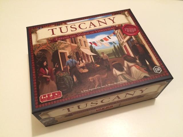 Tuscany, caja