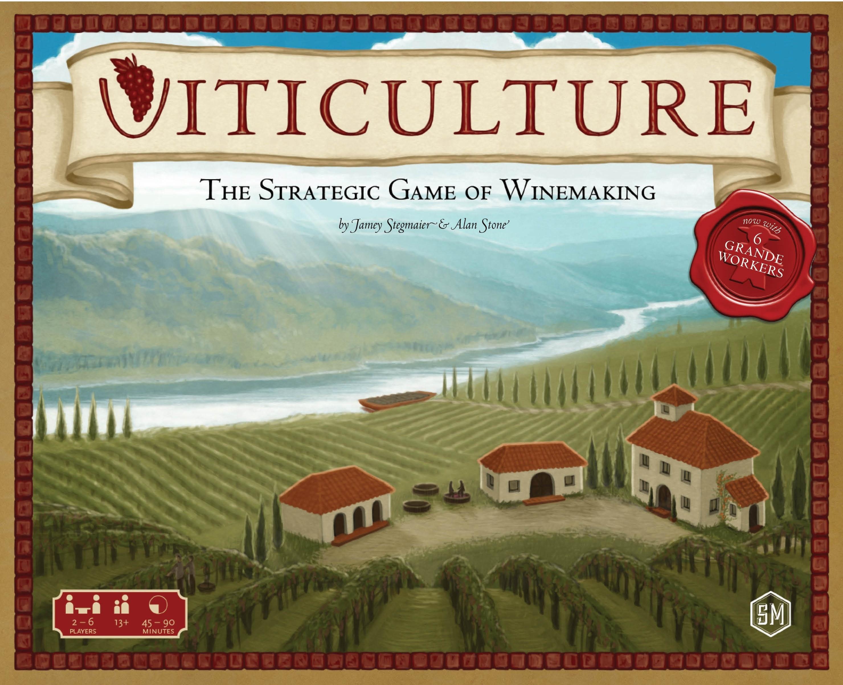 Viticulture, portada