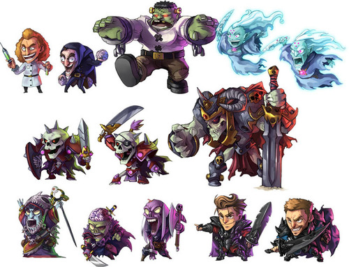 Arte conceptual de arcadia quest beyond the grave