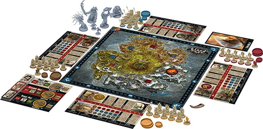 Componentes de Blood Rage
