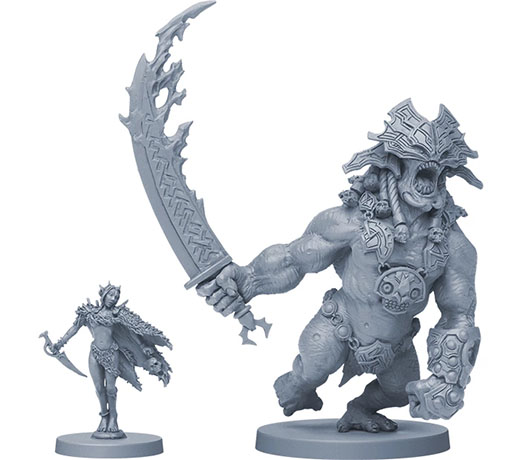 Miniaturas de Blood rage