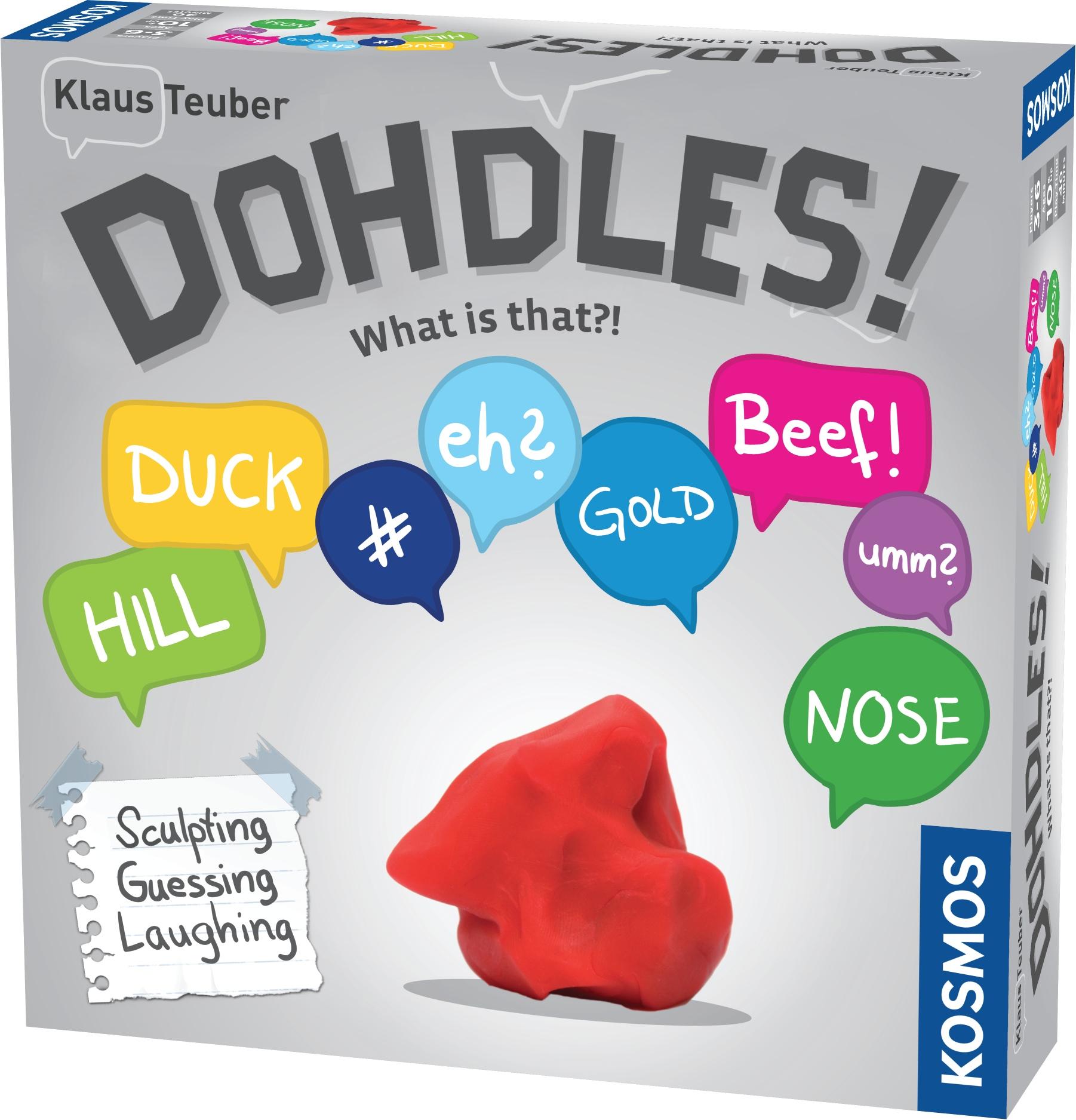 Dohdles!, caja
