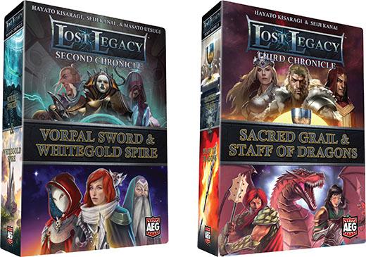 Portadas de las nuevas crónicas de Lost Legacy