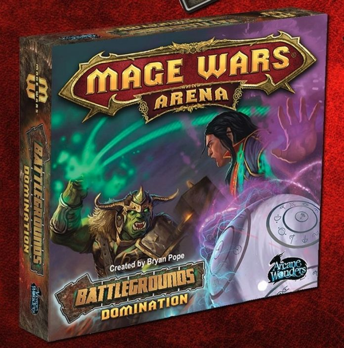 Cahja de Mage Wars Arena: Battlegrounds Domination