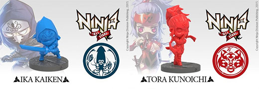 Miniaturas de Ninja All-Star