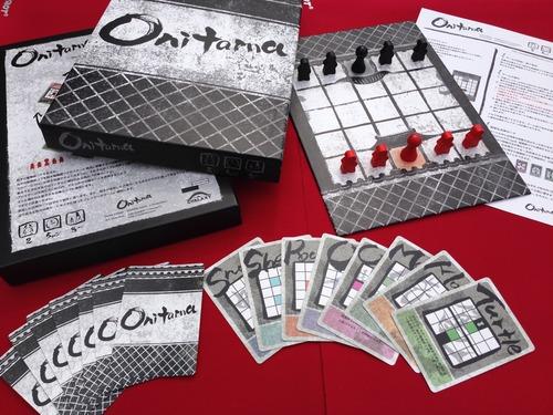 Componentes de Onitama