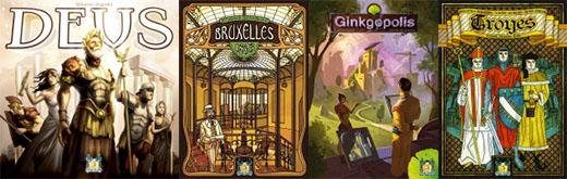 Juegos publicados por Pearl Games