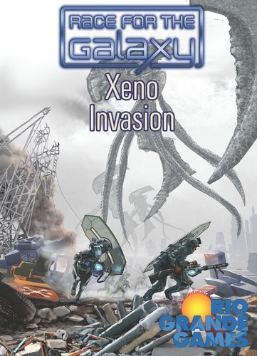 Portada de Race for the Galaxy Xeno Invasion